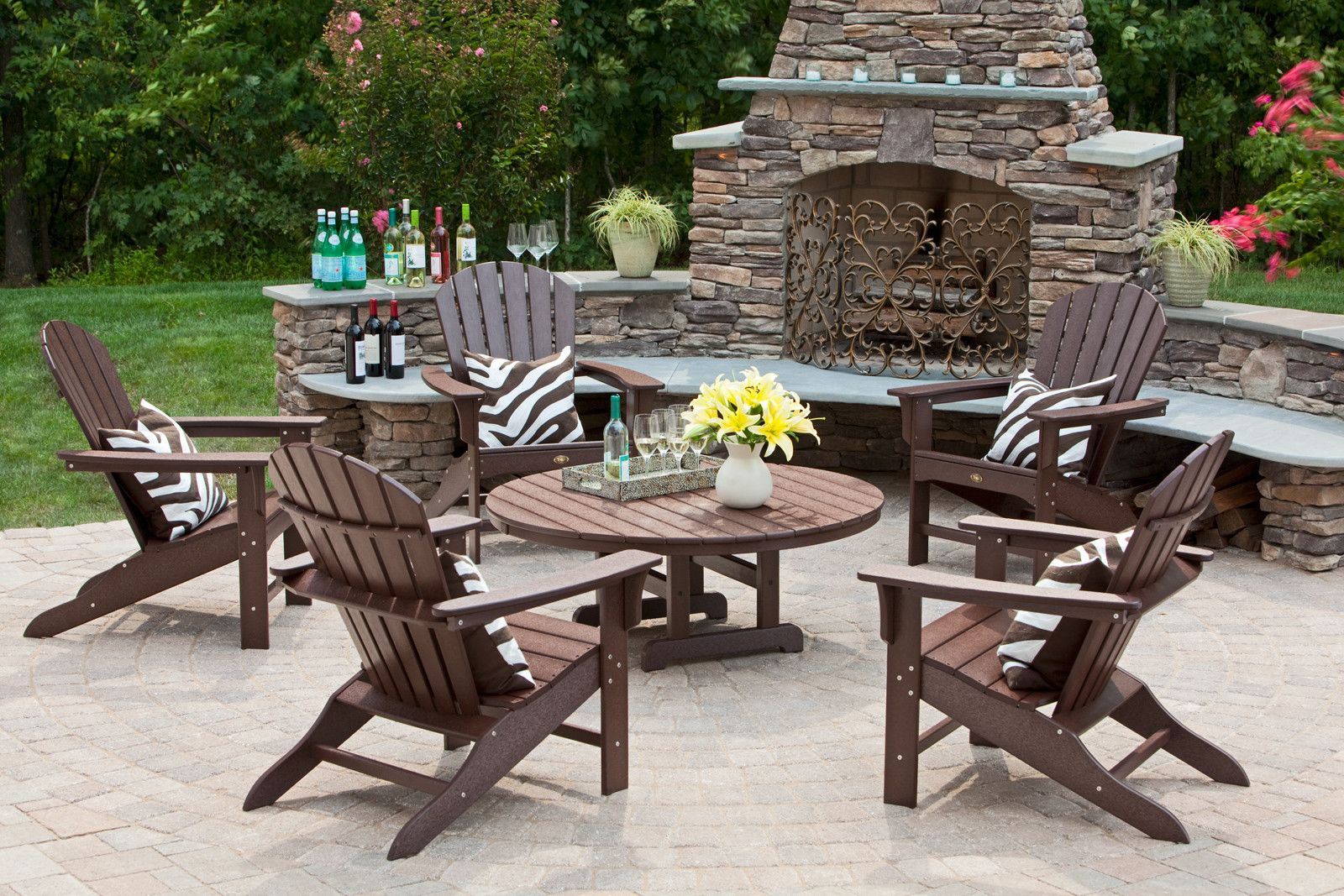 Better Homes And Gardens Outdoor Furniture Brown Wooden Garden